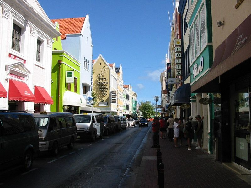 Willemstad, the capital of Curacao