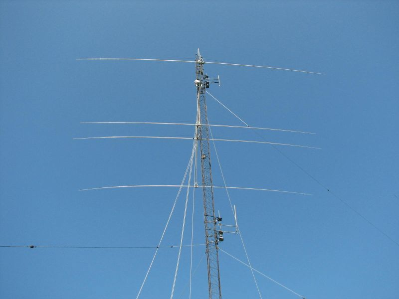 Yagi getting close to the top of the