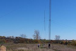 22.5 Foot Chrome Moly Mast from Array Solutions... Going UP!