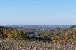 View of the valley to the Northwest.  Beautiful fall day in Wisconsin !!!