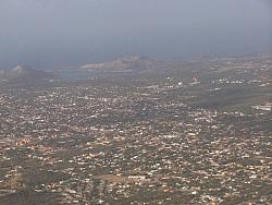 Aerial view of Curacao