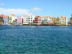 Punda waterfront, Willemstad, Curacao